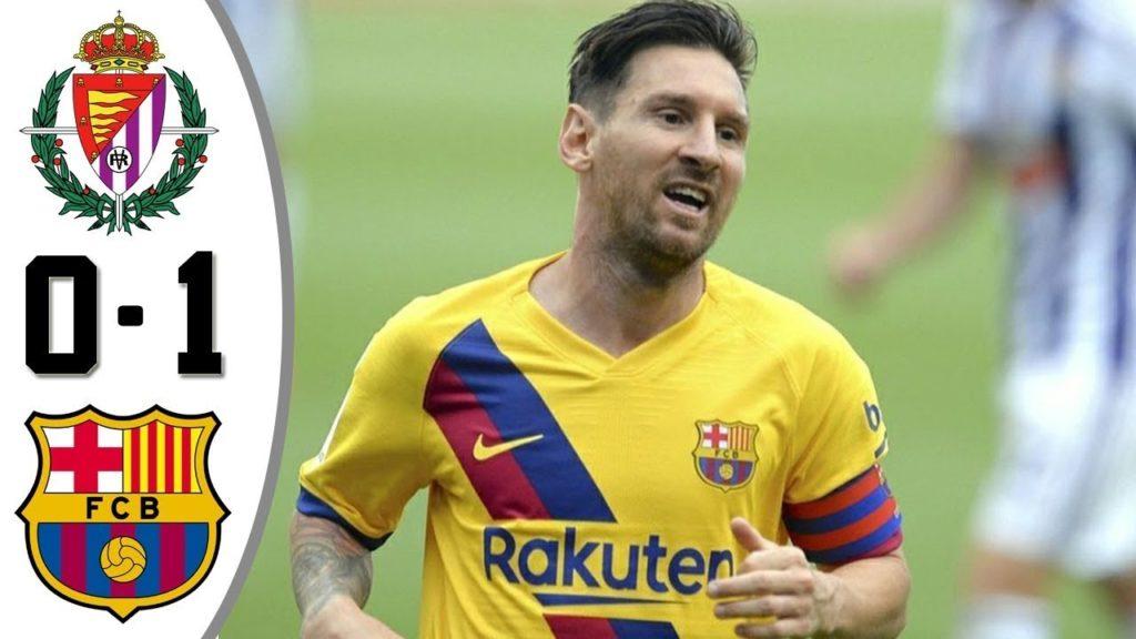 Highlights Real Valladolid vs FC Barcelona (0-1)