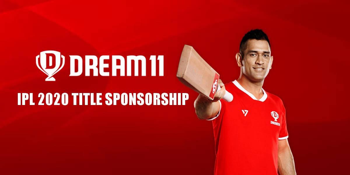 Dream11 IPL 2020 Title Sponsorship