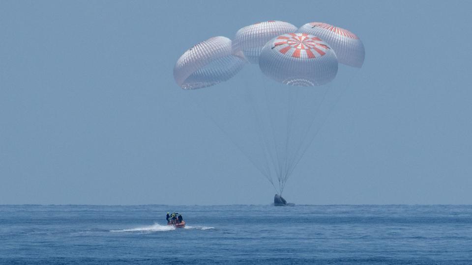 NASA Astronauts at Gulf of Mexico