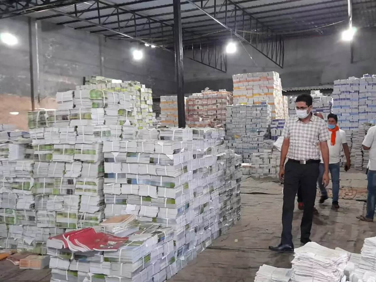 Pirated NCERT Books recovered