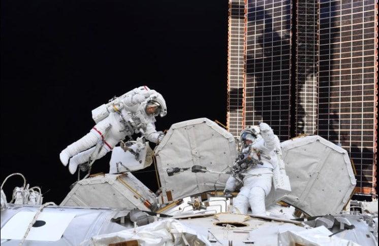 Two Spacewalkers