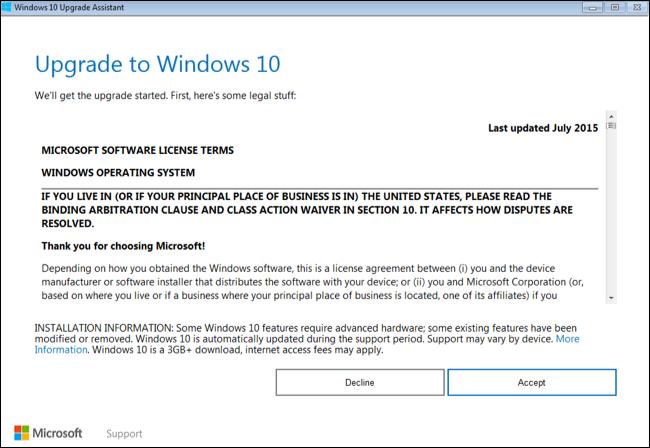 Windows 10 Installation Media Tool