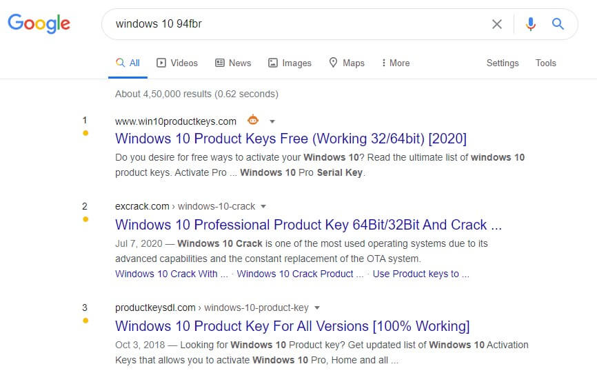 windows 10 94fbr
