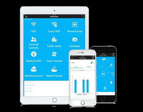 Netgear Genie Mobile Application